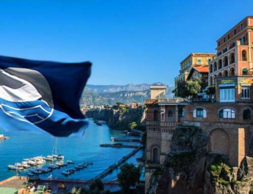 In Sorrento, the Blue Flag is celebrated on 5 July