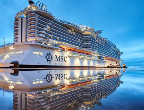 Naples is the first stop on the maiden voyage of MSC Seaview